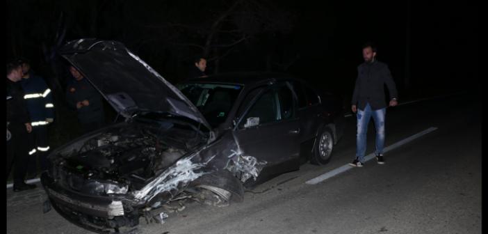 Σοβαρό τροχαίο ατύχημα στην είσοδο της Λευκάδας (ΔΕΙΤΕ ΦΩΤΟ)