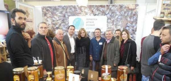 Η Περιφέρεια Δυτικής Ελλάδας συμμετείχε στο 8ο Φεστιβάλ Ελληνικού Μελιού και Προϊόντων Μέλισσας