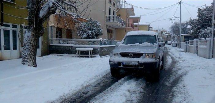 Αμφιλοχία: Κλειστά σχολεία και δυσκολίες στο οδικό δίκτυο