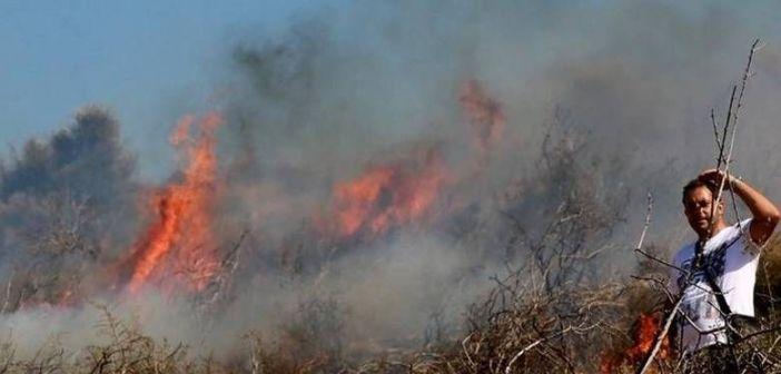 Πύρινη καταστροφή στο Μοναστηράκι Βόνιτσας