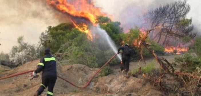 Δυτική Ελλάδα: Υψηλός και για την Δευτέρα ο κίνδυνος πυρκαγιάς (ΔΕΙΤΕ ΧΑΡΤΗ)
