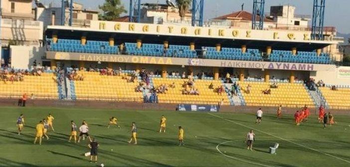 «Μάχη» και ισοπαλία στο γήπεδο του Αγρινίου
