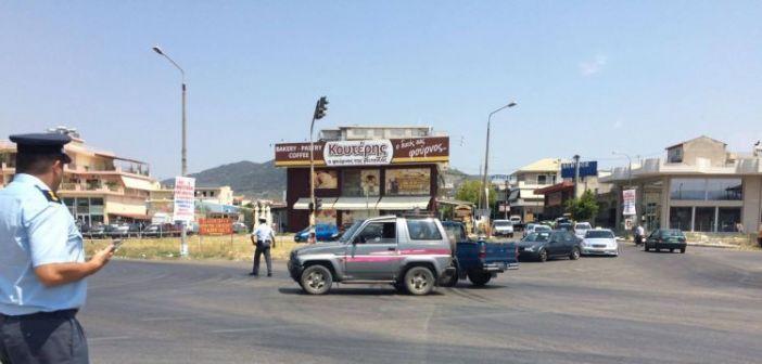 Aγρίνιο: Τραυματισμός δυο δικυκλιστών σε τροχαίο στον Kόμβο Σταδίου (ΔΕΙΤΕ ΦΩΤΟ)