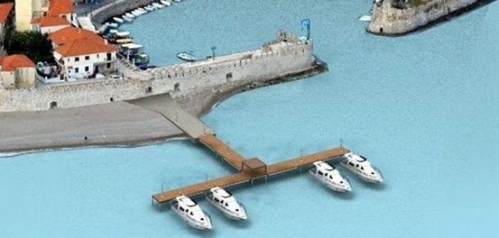 Εγκρίθηκε η τοποθέτηση πλωτής εξέδρας στο Λιμάνι της Ναυπάκτου
