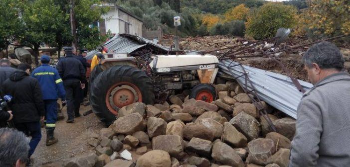 Αυτοψία αντιπροσωπείας γεωλόγων του ΓΕΩΤ.Ε.Ε. σε περιοχές της Αιτωλοακαρνανίας