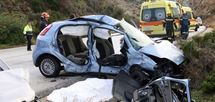 H οδική ασφάλεια στην Δυτική Ελλάδα σε αριθμούς για τον Δεκέμβριο – 33 τροχαία – 3 θανατηφόρα