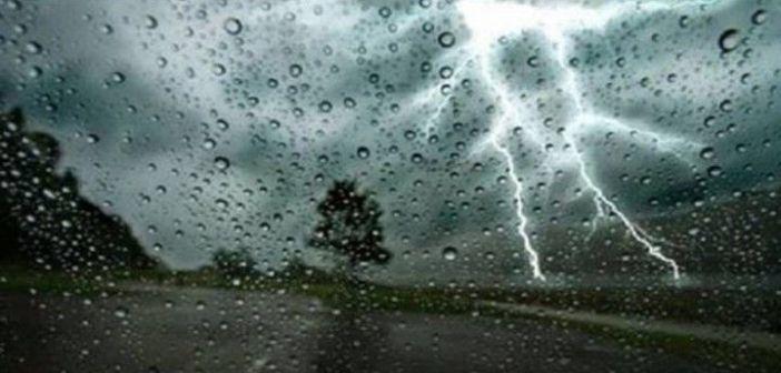 Έκτακτο δελτίο καιρού: Βροχές και καταιγίδες