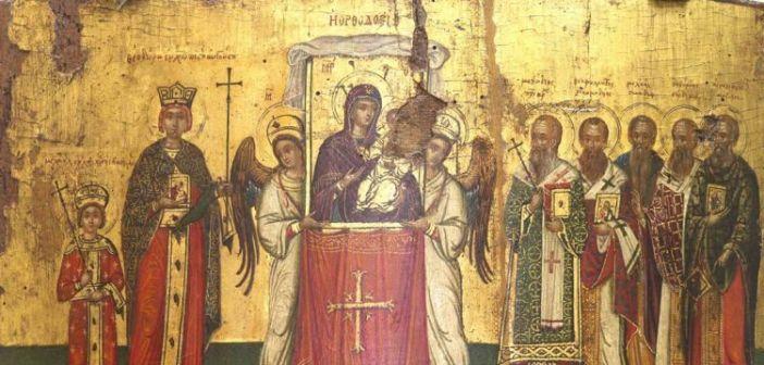 Κυριακή της Ορθοδοξίας στον Καθεδρικό Ναό της Ναυπάκτου