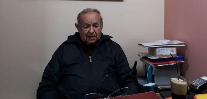 Συλλυπητήρια από το σωματείο Ραδιοταξί Αγρινίου στον Αντιδήμαρχο Κ. Καλαντζή για την απώλεια του πατρός του