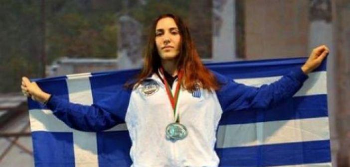 Πρωταθλήτρια Ελλάδας η Μαρία Λεκατσά από την Κανδήλα στο Tae Kwon Do