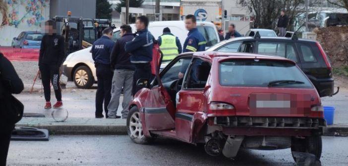 Τροχαίο ατύχημα προκάλεσαν τα λάδια που χύθηκαν στο οδόστρωμα στο Κεφαλόβρυσο