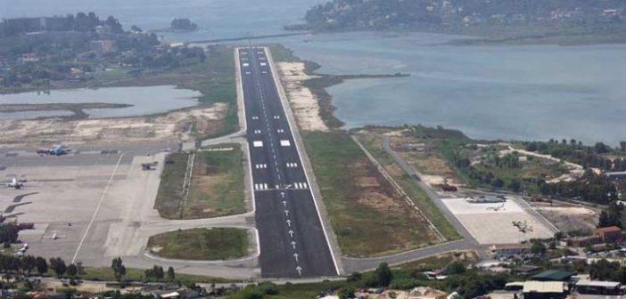"""Στο """"ναδίρ"""" η κίνηση στο αεροδρόμιο του Ακτίου τον Απρίλιο και το πρώτο τετράμηνο του 2020"""