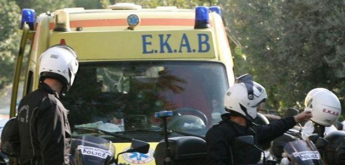 Μακρυνεία: Τροχαίο με τρεις ελαφρά τραυματίες