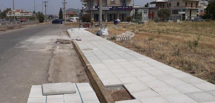 Αγρίνιο: Εργασίες ανάπλασης και καθαρισμού στην νοτιοανατολική είσοδο της πόλης (ΔΕΙΤΕ ΦΩΤΟ)