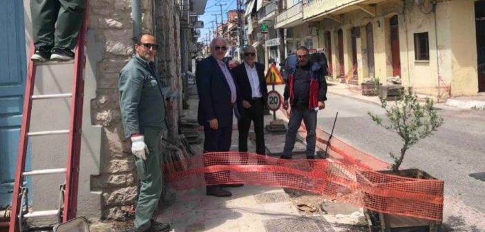 Αιτωλικό: Υπογειοποιείται το δίκτυο της ΔΕΗ επί της Κ. Λάσκαρη