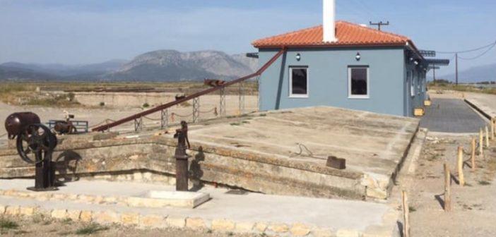 Μεσολόγγι: Μουσείο Αλατος στις αλυκές της Τουρλίδας