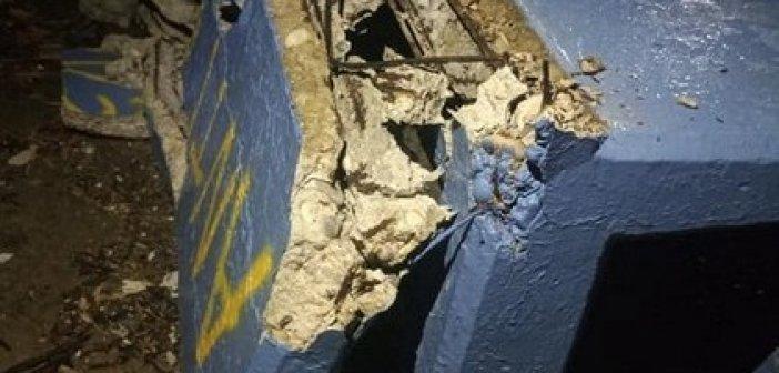 Μεσολόγγι: Ακόμα και ένα τσιμεντένιο παγκάκι στο λιμάνι έσπασαν άγνωστοι