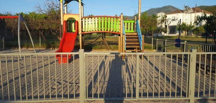 Νέες παιδικές χαρές στον Δήμο Θέρμου (ΦΩΤΟ)