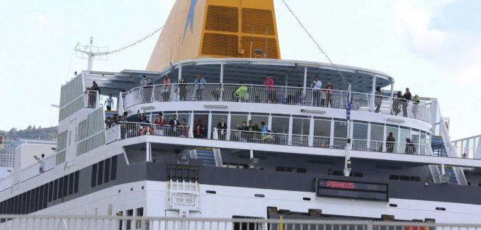 Με πληρότητα 50% θα ταξιδεύουν τα πλοία – Υποχρεωτική η χρήση μάσκας