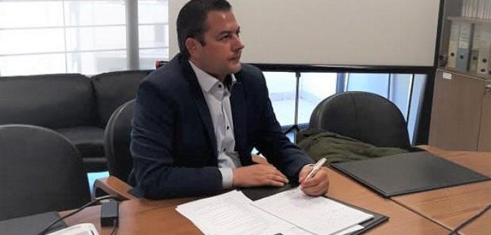 Δυτική Ελλάδα: Συνέντευξη τύπου για αγροτικά θέματα από τον Αντιπεριφερειάρχη Θ. Βασιλόπουλο