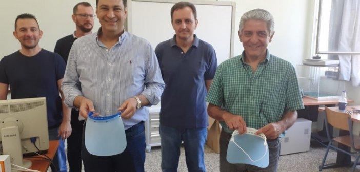 Προσφορά προστατευτικών μασκών στο Δήμο Αγρινίου (ΦΩΤΟ)
