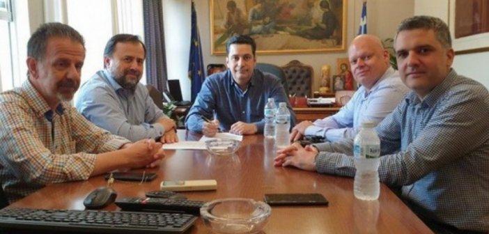 Συνάντηση Εργασίας του Γιώργου Παπαναστασίου με την ΔΕ του ΤΕΕ Αιτωλοακαρνανίας