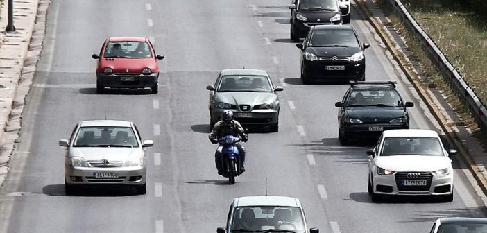 Ανω των 10 ετών το 88% των Ι.Χ. στους δρόμους της Ελλάδας