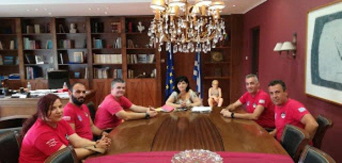 Συνάντηση με την Αντι-Περιφερειάρχη Μαρία Σαλμά είχε η ΕΟΕΔ Μεσολογγίου (ΔΕΙΤΕ ΦΩΤΟ)