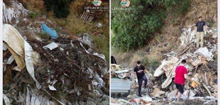 Ολοκληρώθηκε η εθελοντική δράση καθαρισμού Lets Do It Greece στην παραποτάμια ζώνη της Ερμίτσας (ΔΕΙΤΕ ΦΩΤΟ)