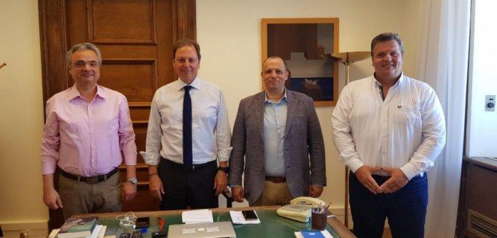 Συνάντηση Σπήλιου Λιβανού με την ΠΟΜΕΝΣ