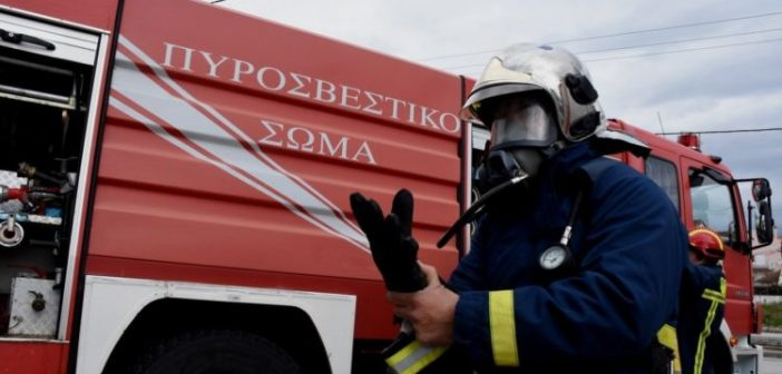 Αιτωλοακαρνανία: Σε θέση μάχης η Πυροσβεστική