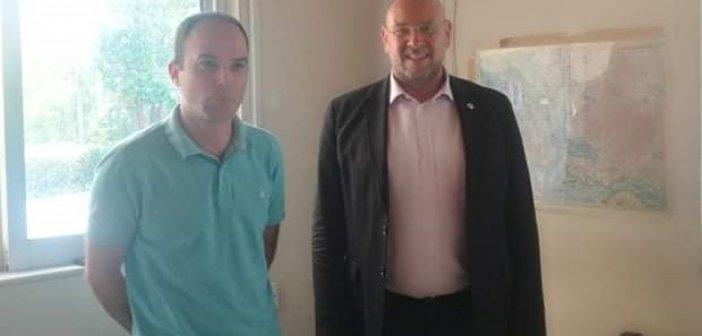 Ο Πρόεδρος του ΕΚΑΒ με τον Αντιπεριφερειάρχη Λάμπρο Δημητρογιάννη στον Τομέα Αγρινίου (ΔΕΙΤΕ ΦΩΤΟ)