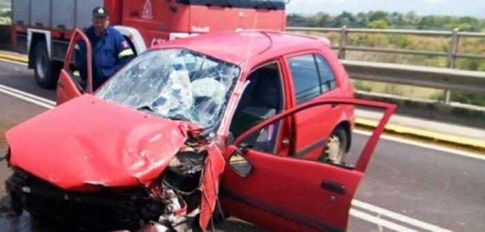 Μεθυσμένος ο οδηγός του αυτοκινήτου που ενεπλάκη στο τροχαίο στη γέφυρα Αχελώου (ΦΩΤΟ)