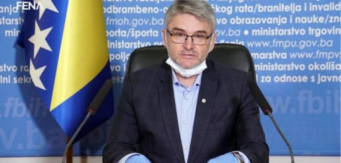 Νεκρός από κορωνοϊό υπουργός της Βοσνίας