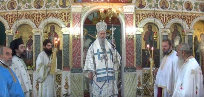 Βίντεο από την πανηγυρική Θεία Λειτουργία στον Ι.Ν. Αγίων Αναργύρων στα Χάνια Γαβρολίμνης.