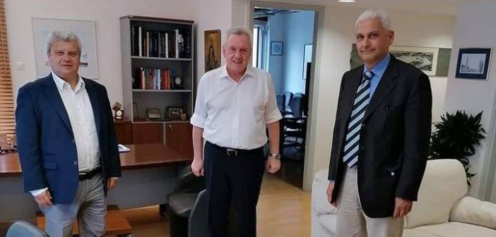 Συνάντηση Φ.  Ζαΐμη με τον Γ.Γ. Έρευνας και Καινοτομίας, Αθανάσιο Κυριαζή