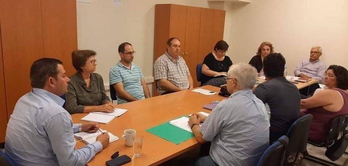Συνάντηση του Αντιπεριφερειάρχη Θ.  Βασιλόπουλου με  εκπροσώπους της Ένωσης «Ο ΝΗΡΕΑΣ» για  προστασία του θαλάσσιου οικοσυστήματος