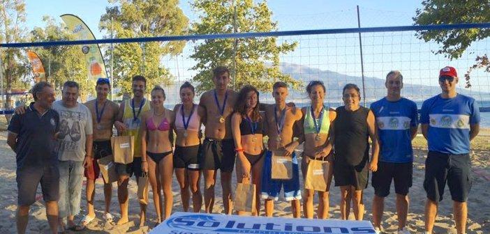 Beach Volley Festival by Λουξ Tea plus n' light: Τελικοί με ανατροπές στη Ναύπακτο (ΦΩΤΟ)