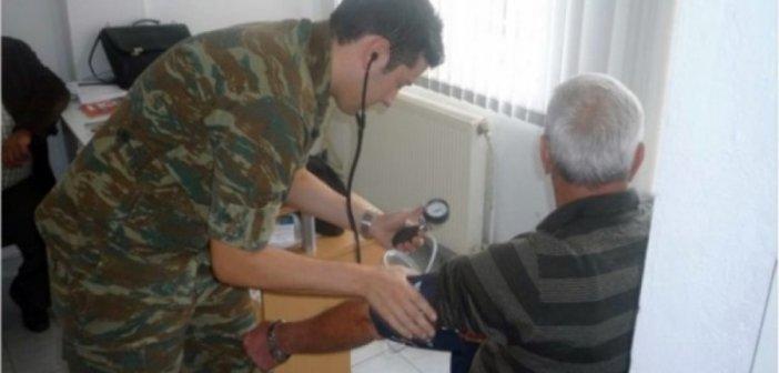Στο Περιφερειακό Ιατρείο Καλάμου τοποθετήθηκε ο οπλίτης ιατρό