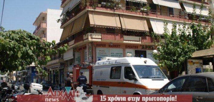 Φωτιά σε διαμέρισμα στο Μεσολόγγι από τον απορροφητήρα της κουζίνας (ΔΕΙΤΕ ΦΩΤΟ)