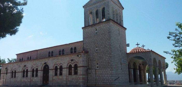 Εορτάζει ο Ι.Ν. Αγίας Παρασκευής Αγρινίου στις 25 και 26 Ιουλίου