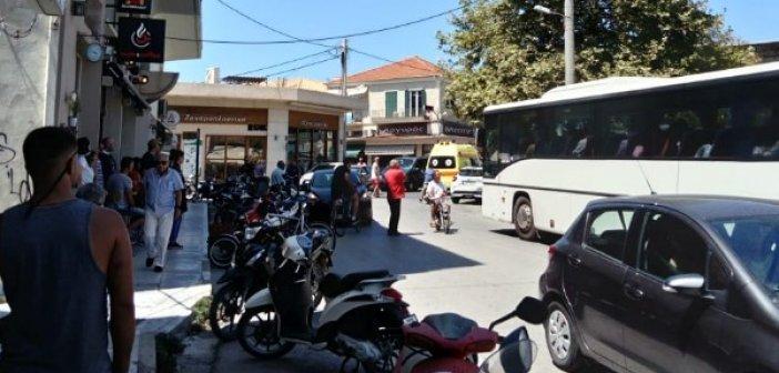 Λευκάδα: Αυτοκίνητο που είχε σταματήσει παράνομα εμπόδισε την μεταφορά ασθενούς