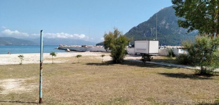 Δημοπρασία για εκμίσθωση χώρων αιγιαλού και παραλίας του Δήμου Ξηρομέρου