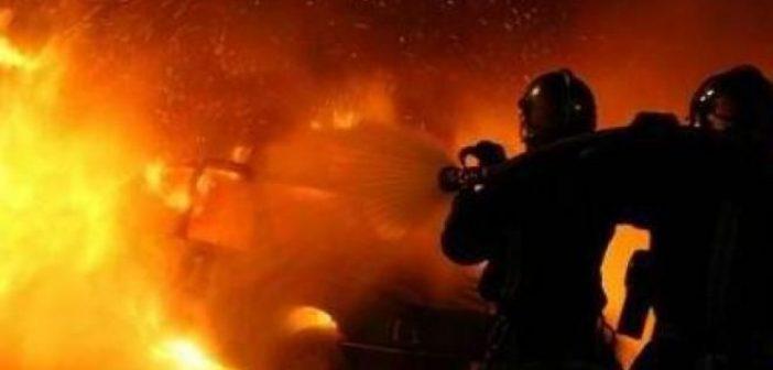 Σταμνά: Καταστράφηκε ολοσχερώς από πυρκαγιά το αρχοντικό Κατσώτα (ΔΕΙΤΕ ΦΩΤΟ)