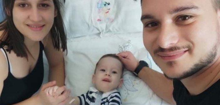 Αστακός: Γιορτάζει ο μικρός μαχητής Ηλίας – Στυλιανός – Το συγκινητικό βίντεο των γονιών του!