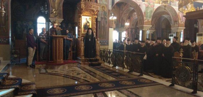 Μητροπολίτης Αιτωλίας και Ακαρνανίας Κοσμάς: «Θεέ μου σώσε την Ρωμηοσύνη, σώσε τον Ελληνισμό, σώσε το Γένος μας»