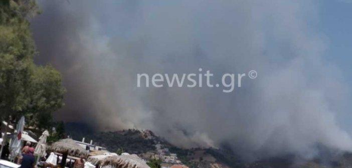 Φωτιά στις Κεχριές Κορινθίας – Απίστευτες εικόνες! Εκκενώθηκαν τρεις οικισμοί και μια κατασκήνωση