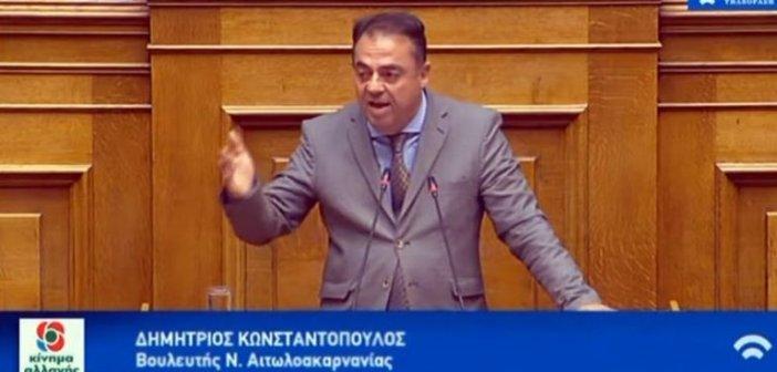 Ερώτηση Κωνσταντόπουλου για την εναρμόνιση της νομοθεσίας για τους αγρότες κατόχους φωτοβολταϊκών σταθμών
