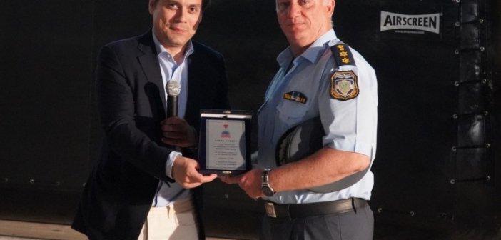 Τιμήθηκε από τον Δήμαρχο Χαϊδαρίου ο Αστυνομικός Διοικητής Κ. Παχής από τα Καλύβια (ΔΕΙΤΕ ΦΩΤΟ)