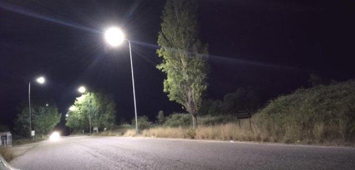 Φωτιστικά led στις εισόδους του Μύτικα (ΔΕΙΤΕ ΦΩΤΟ)
